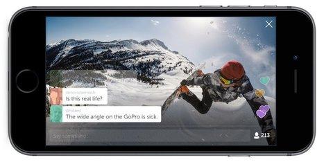 Streamez vos exploits en direct avec votre GoPro et Periscope | Veille Social Media Marketing | Scoop.it