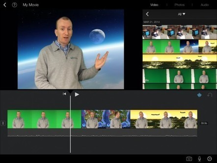 How to Use Green Screen Effects on iPads - Jonathan Wylie | idevices for special needs | Scoop.it