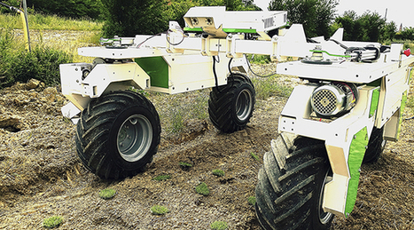 Naïo Technologies, les magiciens d'Oz - Entraid | Chambre agriculture Morbihan | Scoop.it