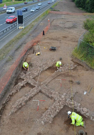 The Archaeology News Network: Roadworks uncover lost medieval Scottish village | Monde médiéval | Scoop.it
