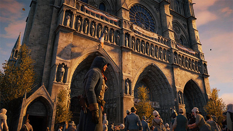 Copyright kept Assassin's Creed: Unity's Notre Dame from being a perfect replica - VG247 | Copyright in Higher Education: Teaching, Digitisation and OERs | Scoop.it