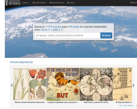Difusión de la cultura en internet: mapa mundial de las plataformas online | TÚÑEZ LÓPEZ | | Comunicación en la era digital | Scoop.it