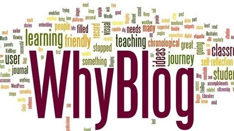 3 Reasons Your Students Should Be Blogging - Instructional Tech Talk | I'm Bringing Techy Back | Scoop.it