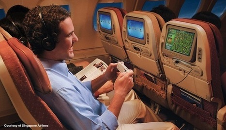 Why iPads Are the Future of In-Flight Entertainment | All things iApple | Scoop.it