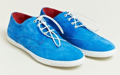 Junya Watanabe x Trickers Men's Brogue Trainers AW12 | Double ... | COMME des | Scoop.it
