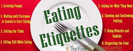 8 Ultimate Eating Etiquette for Your Child | Infant & Child Care | Scoop.it