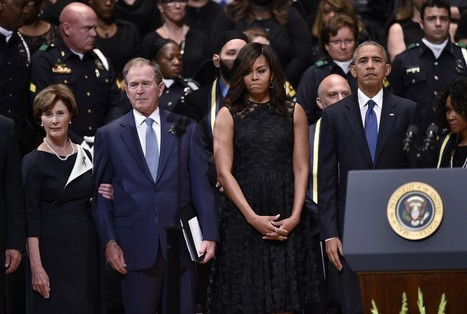At service for Dallas officers, Obama confesses frustrations as he calls for unity | Upsetment | Scoop.it