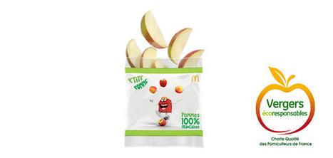 Le logo verger écoresponsable sur les sachets de pomme du MacDonald's | Arboriculture: quoi de neuf? | Scoop.it