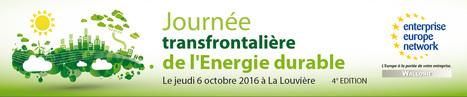 4ème édition de la Journée Transfrontalière de l'Energie Durable - Hainaut Développement | Agenda HAINAUT DEVELOPPEMENT | Scoop.it