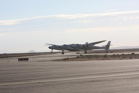 SpaceShipTwo Feathers Wings During Second Powered Test Flight | The NewSpace Daily | Scoop.it