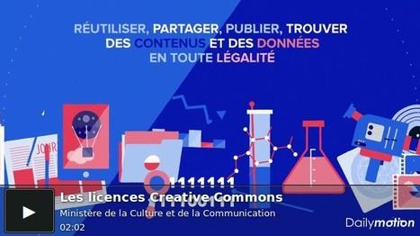 Tout savoir sur les licences Creative Commons en 2 min | arts littérature langue | Scoop.it