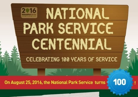 The National Park Service Turns 100! - Infographic Portal | Comics | Scoop.it