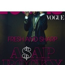 ASAP Rocky On The Cover Of L'Uomo Vogue Magazine - Rap Dose | A$AP Rocky | Scoop.it