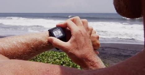 A smartwatch to collect datas from your surf's experiences | Digital Creatives | Scoop.it