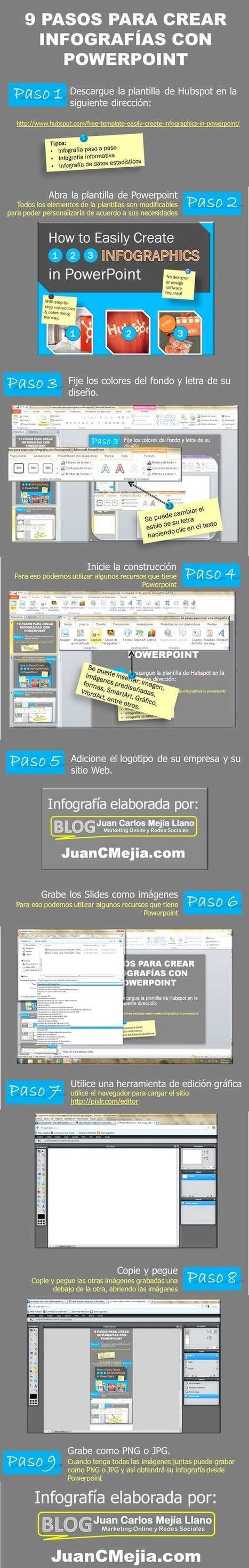 9 pasos para crear infografías con Power Point... o con Impress | Herramientas TIC para el aula | Scoop.it