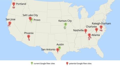 Expansion Plans – Google Fiber | TechNFO | Scoop.it
