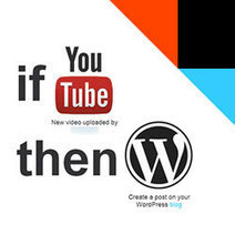How to Automatically Create WordPress Post from YouTube Video   Wordpress Themes & Tips   Scoop.it