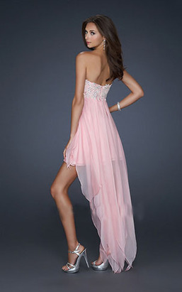 Embellished Bodice Pink Strapless Hige Low Cocktail Dresses [Hige Low Cocktail Dresses] - $169.00 : 2014 Hot Sale Dresses | Party Dresses Discount for Prom | Headphones Sale Online Cheap Beats By Dre | Scoop.it