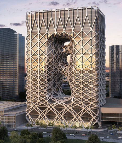 zaha hadid constructs hotel tower for macau's city of dreams - designboom   architecture & design magazine   Architecture on the world   Scoop.it