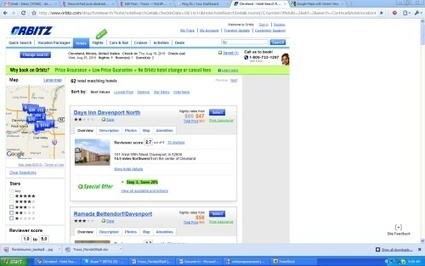 Orbitz adds comparison shopping tools, Google Maps to initial hotel ... | Comparison Shopping | Scoop.it