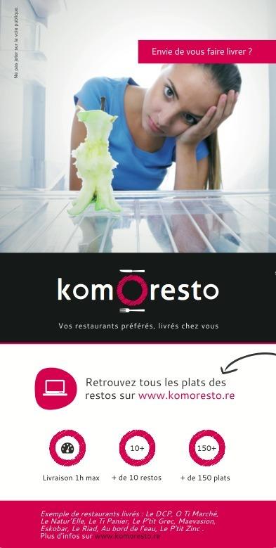 Livraison Restos Réunion | komOresto | Scoop.it