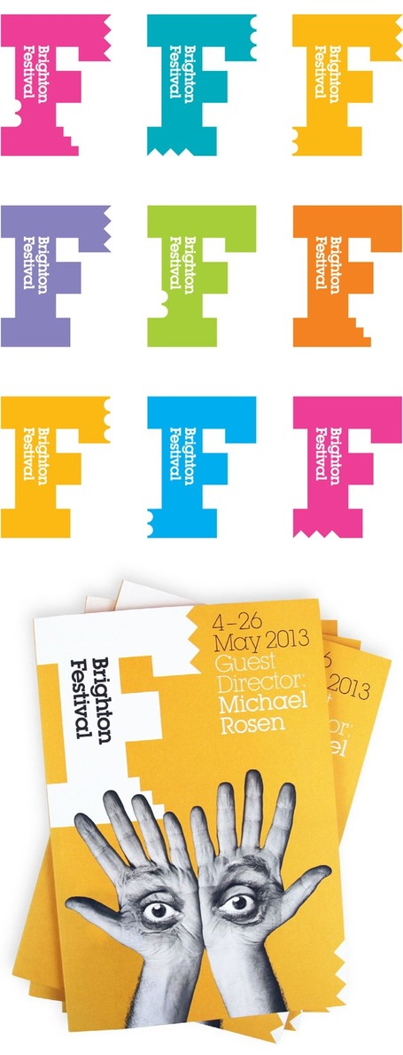 New identity for Brighton Dome and Festival by Johnson Banks | UK | Huisstijl | Scoop.it