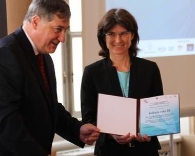 Monika Rychtarikova, « femme scientifique de l'année » récompensée pour ses travaux sur l'acoustique des bâtiments | Dans l'actu | Doc' ESTP | Scoop.it