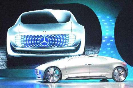 Daimler's concept car turns into mobile living room - Financial Express   Location Is Everywhere   Scoop.it
