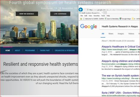 Resilient until the breaking point is reached. Are we standing by? | Living Health Systems | Scoop.it