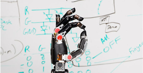 """Paralyzed man becomes first person to """"feel"""" sensations through a prosthetic hand connected to his brain - Boing Boing 