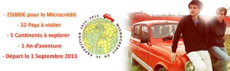Tour du monde en Renault 4L : la promotion de deux étudiants en faveur de la microfinance | Société durable | Scoop.it