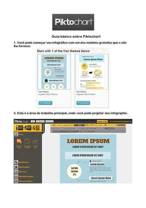 Tutorial básico do Piktochart em português | DIGITALmente | Scoop.it