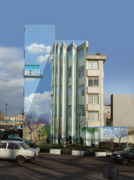 Eye-Deceiving Murals Turn Streets Of Iran Into An Optical Illusion Gallery | somethings to think about | Scoop.it