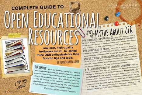 Campus Technology : August 2014 - Guide to OER | On education | Scoop.it