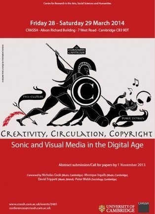 Creativity, Circulation and Copyright: Sonic and Visual Media in the Digital Age – CRASSH   Right to Share Events   Scoop.it