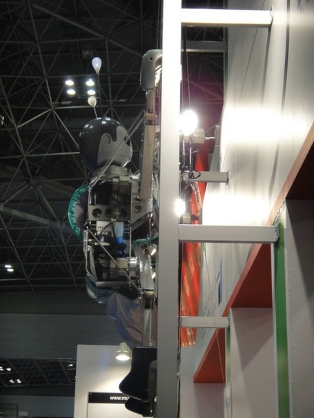 Video: Japanese Robot Climbs Up And Down Ladders By Itself ... | Heron | Scoop.it