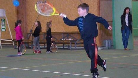 Des élèves de l'école Jacques-Yves-Cousteau s'initient au tennis | L'école Cousteau dans la presse et sur internet... | Scoop.it