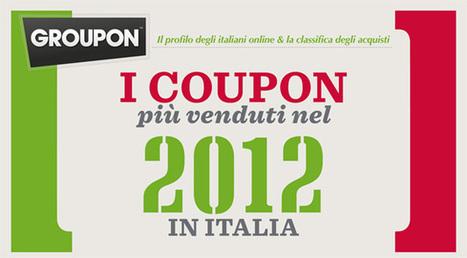 Groupon, ecco i coupon più venduti in Italia nel 2012 [Infografica] | InTime - Social Media Magazine | Scoop.it