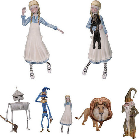 Free Mesh Dorothy Avatar and Wizard of Oz Statues - Fun Freebie Stuff - Virtual Vagabond | Second Life Findings | Scoop.it
