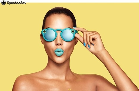 Snapchat reveals its $130 Spectacles and rebrands as Snap Inc. | INTRODUCTION TO THE SOCIAL SCIENCES DIGITAL TEXTBOOK(PSYCHOLOGY-ECONOMICS-SOCIOLOGY):MIKE BUSARELLO | Scoop.it