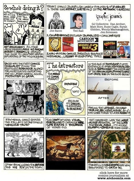 An introduction to comics journalism, in the form of comics journalism | Poynter. | Texten fürs Web | Scoop.it
