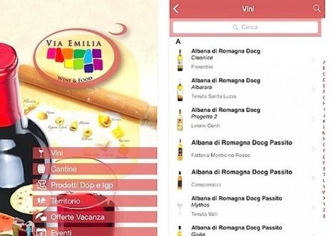 A Vinitaly debutta la app Via Emilia Wine&Food | 1kQV 1000 di Questi Viaggi | Scoop.it