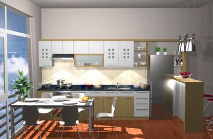 Lựa chọn màu tủ bếp theo màu sơn tường | Phong thủy tủ bếp gia đình | Scoop.it