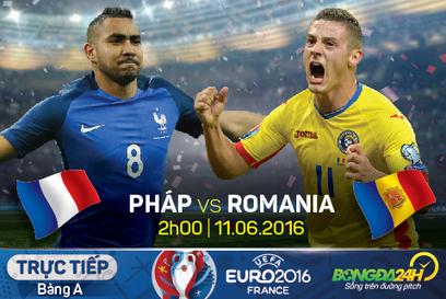 Trực tiếp Pháp vs Romania 2h00 ngày 11/06 bảng A Euro 2016   Trang tin tức   Scoop.it