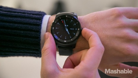 Review |  LG G Watch R: Sharp looks, dull performance | Wearable Tech and the Internet of Things (Iot) | Scoop.it