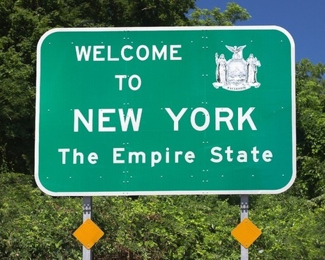 The Sign Says You've Got 25 Miles to go Before New York. It's Lying. | Transport Signage | Scoop.it