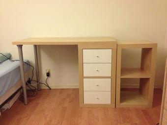 DIY : une expedit transformée en bureau | DIY | Scoop.it