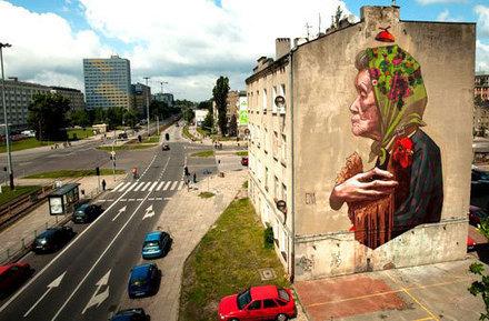 Drab Buildings Revitalised By Gorgeous Street Art   Readings and literature   Scoop.it