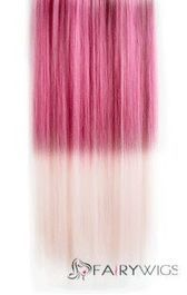 18 Inches Straight Begonia Red to Ginger Synthetic Ombre Hair Extensions : fairywigs.com | Hair Extensions | Scoop.it