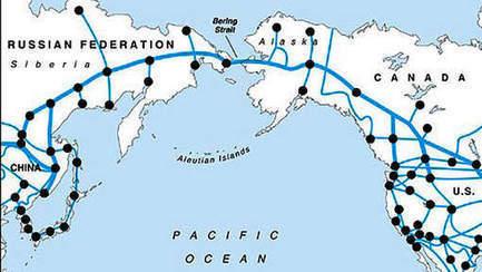 China wil 12.874 kilometer lange spoorlijn naar Amerika | Aardrijkskunde | Scoop.it